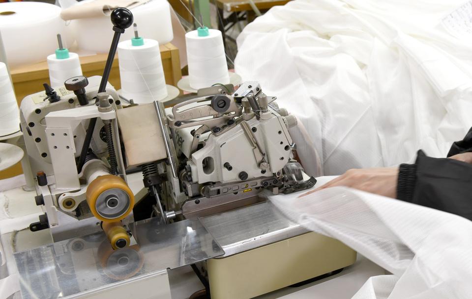 カーテン縫製